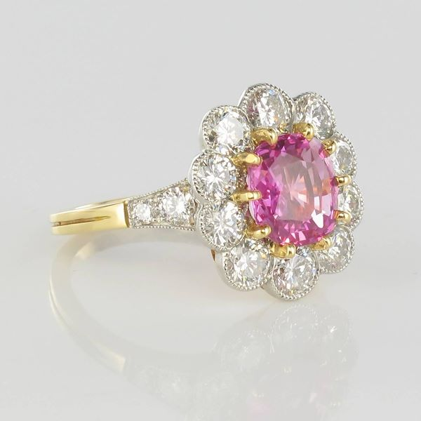 french-225-carat-pink-sapphire-177-carat-diamond-platinum-gold-cluster-ring