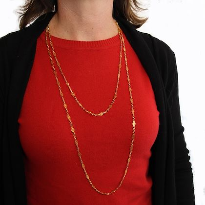 french-19th-century-18-karat-yellow-gold-long-chain-necklace