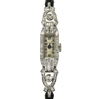 ladies-platinum-white-gold-diamond-french-art-deco-mechanical-wristwatch-1925