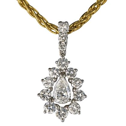 1970s-165-carat-diamond-white-gold-pendant-yellow-gold-chain-necklace