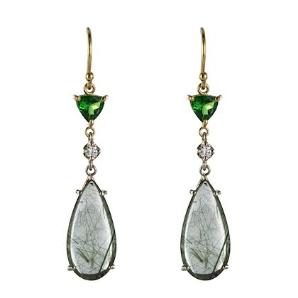 baume-creation-rutilated-quartz-tsavorite-garnet-diamond-dangle-earrings