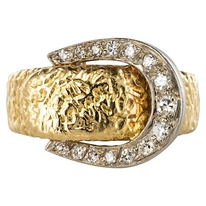 1900s-diamonds-18-karat-yellow-gold-belt-ring