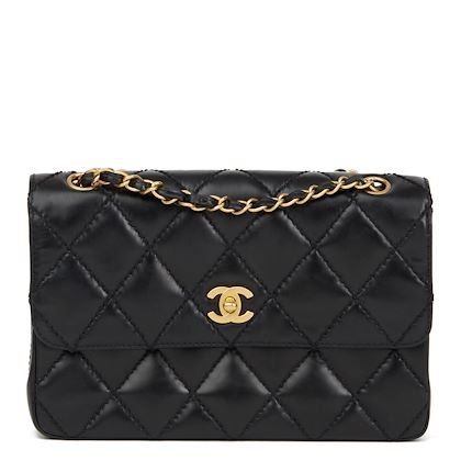 black-heavy-stitch-quilted-calfskin-leather-classic-single-flap-bag