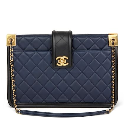 black-navy-quilted-lambskin-large-shopping-tote