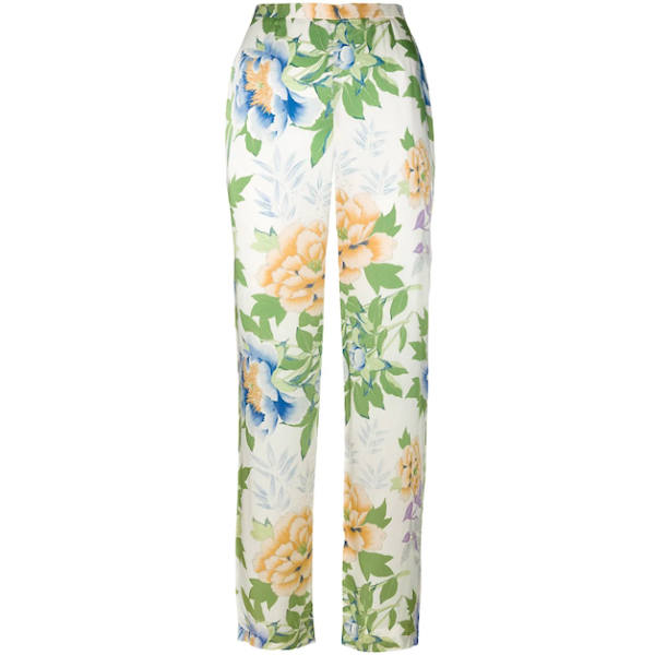 Picture of KENZO floral print trousers