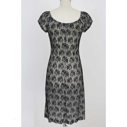 moschino-cheap-and-chic-lace-flared-dress-vintage-cotton-black