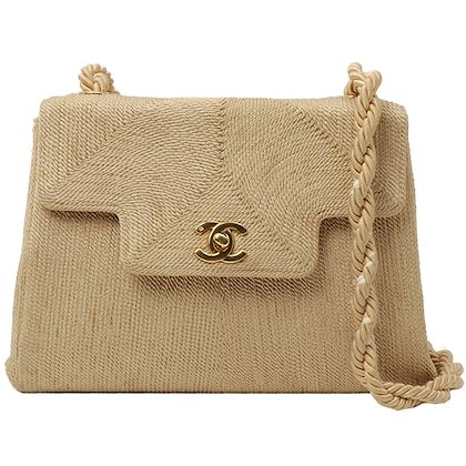 chanel-loop-design-flap-turn-lock-plate-shoulder-bag-yellow-ocher