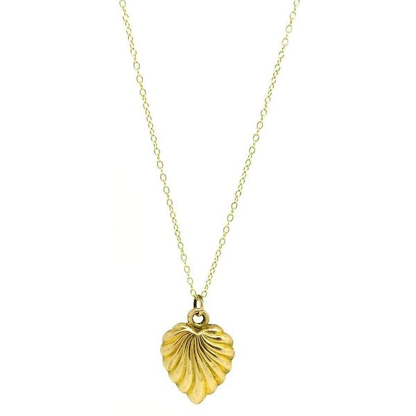 vintage-1970s-9ct-yellow-gold-heart-charm-necklace