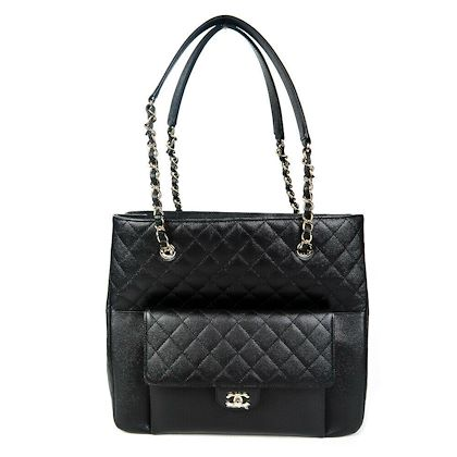 chanel-2019-large-caviar-tote-black-quilted-leather-bag-gold-chain-19c-new