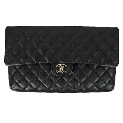 chanel-2019-jumbo-clutch-caviar-leather-black-flap-gold-cc-turnlock-19c-new