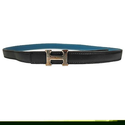 hermes-h-belt-thin-reversible-black-blue-leather-silver-h-85-womens-unisex-pre-owned-used-2