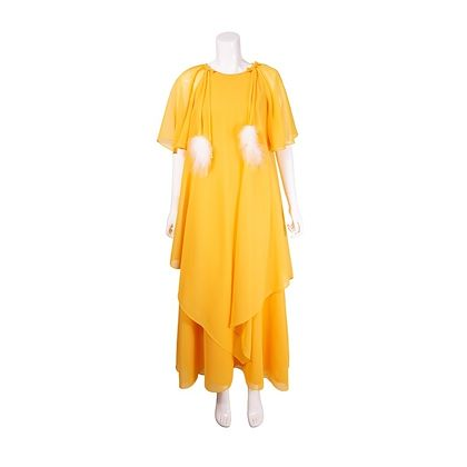 vintage-1970s-yellow-bohemian-floaty-maxi-dress-2