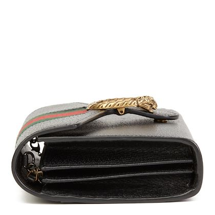 black-calfskin-leather-web-mini-dionysus-wallet-on-chain