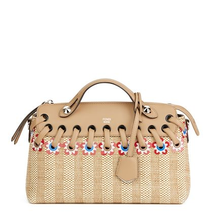 tan-calfskin-leather-raffia-flowers-medium-by-the-way-2