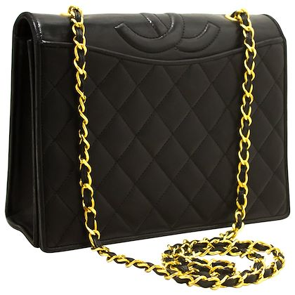 chanel-classic-chain-shoulder-bag-black-quilted-full-flap-lambskin