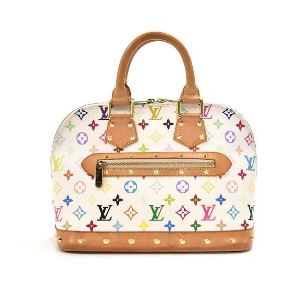 Louis Vuitton Alma White Multicolor