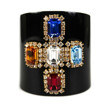 chanel-1995-bracelet-gripoix-vintage-cross-glass-crystal-rhinestone-black-cuff-pre-owned