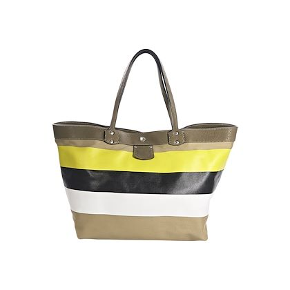 multicolor-ghurka-striped-coated-canvas-tote-bag