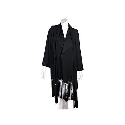 black-vintage-yves-saint-laurent-gabardine-fringe-trimmed-jacket