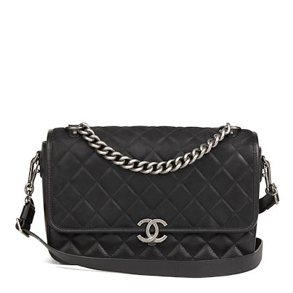 black-quilted-caviar-leather-nubuck-suede-calfskin-leather-jumbo-rock-my-shoulder-flap-bag
