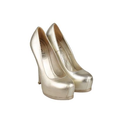 yves-saint-laurent-gold-metal-leather-platform-pumps-heels-shoes-size-39