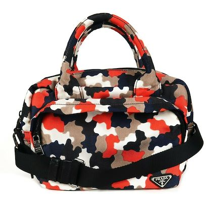 prada-large-camouflage-crossbody-messenger-bag-blue-orange-white-pre-owned-used