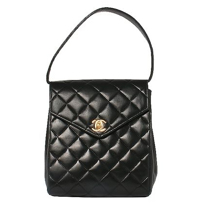 chanel-v-flap-turn-lock-box-design-handbag-black