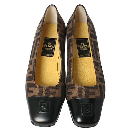 fendi-ff-pattern-square-toe-pumps-blackbrown