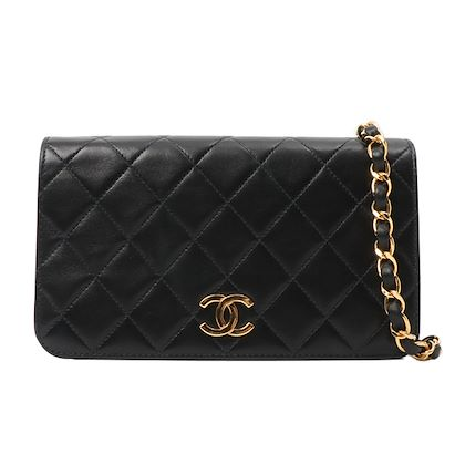 chanel-full-flap-cc-mark-plate-chain-bag-mini-black-2
