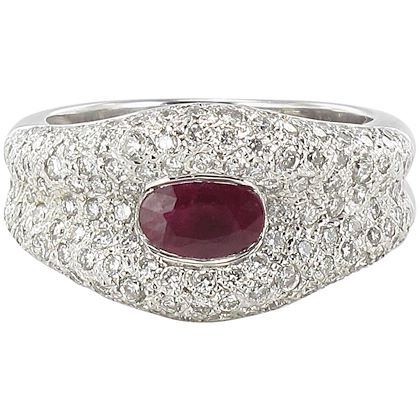 modern-ruby-and-diamond-18-carat-white-gold-band-ring-2