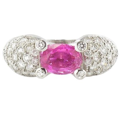 modern-188-carat-pink-sapphire-128-carat-brillant-cut-diamond-gold-ring-2