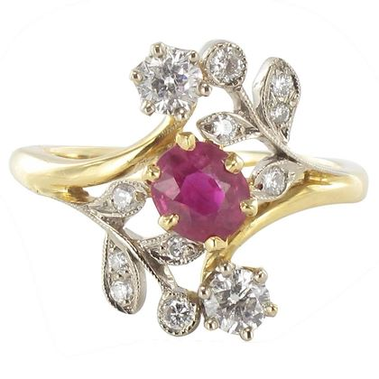french-floral-design-ruby-diamond-gold-ring-2
