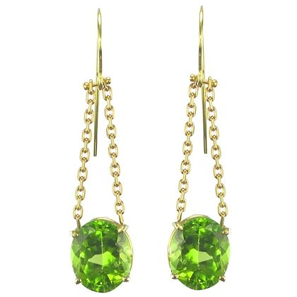 peridot-and-golden-chain-dangle-earrings-2