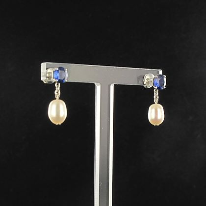 pearl-royal-blue-sapphire-gold-drop-earrings-2