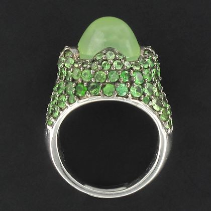 modernist-prehnite-and-tsavorite-garnet-silver-dome-ring-2