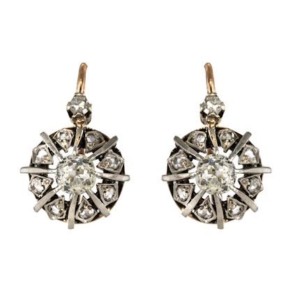 19th-century-rose-gold-and-diamond-drop-earrings-2