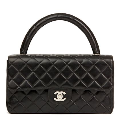 black-quilted-lambskin-vintage-medium-classic-kelly-flap-bag