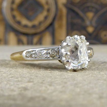 antique-15ct-diamond-solitaire-18ct-engagement-ring-with-diamond-shoulders