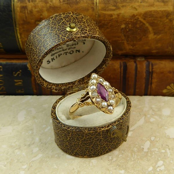 art-nouveau-ruby-and-pearl-antique-engagement-ring-18-carat-edwardian-1912