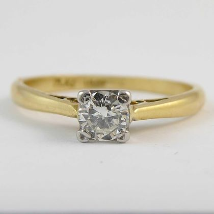 vintage-diamond-solitaire-engagement-ring