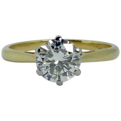 072-carat-vintage-solitaire-diamond-engagement-ring-brilliant-cut-diamond