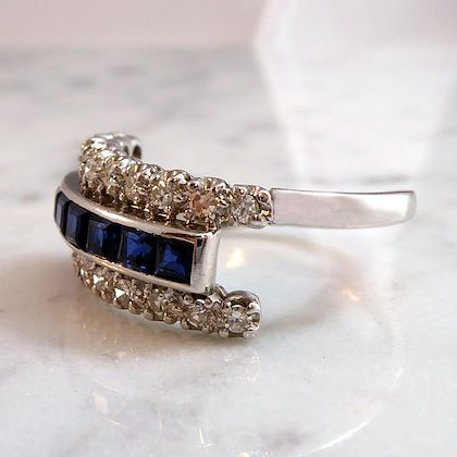 076-carat-sapphire-diamond-dress-ring-triple-band-white-settings-contemporary