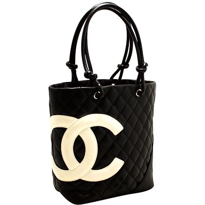 chanel-cambon-tote-small-shoulder-bag-black-white-quilted-calfskin-6