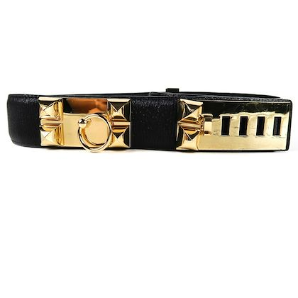 hermes-belt-cdc-wide-black-leather-gold-studs-collier-de-chien-size-80-pre-owned-used