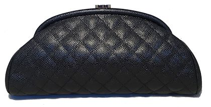 chanel-black-quilted-caviar-timeless-clutch