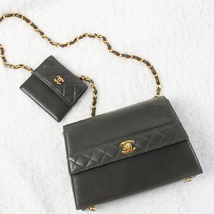 chanel-straight-flap-turn-lock-chain-bag-with-pouch-dark-green
