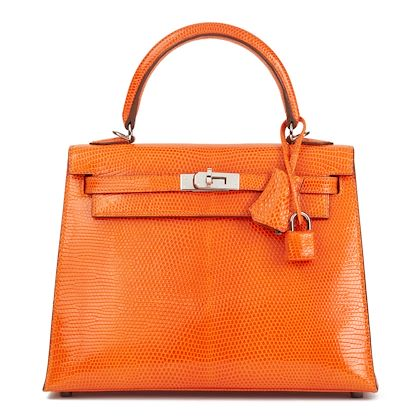 tangerine-shiny-niloticus-lizard-leather-kelly-25cm-sellier