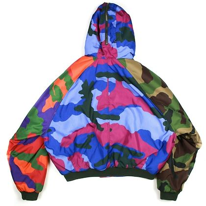 moschino-puffer-coat-camo-print-multicolor-zip-up-jacket-42-large-pre-owned-used