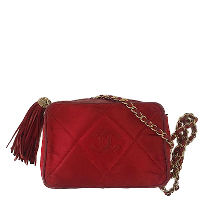chanelshoulder-bag-inred-fabricwith-golden-hardware-and-leather-trims