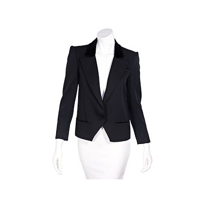black-vintage-valentino-wool-cropped-jacket